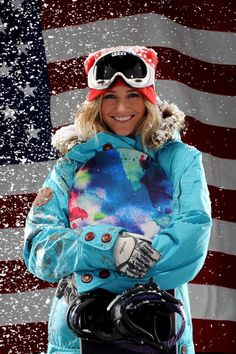 Gretchen Bleiler is such an inspiration! Snowboarding chicks are IT.