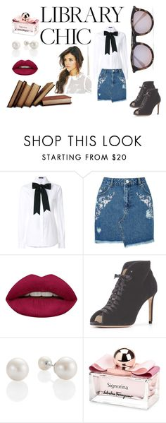 """love book"" by fall83 on Polyvore featuring moda, Dolce&Gabbana, Miss Selfridge, Huda Beauty i Salvatore Ferragamo"