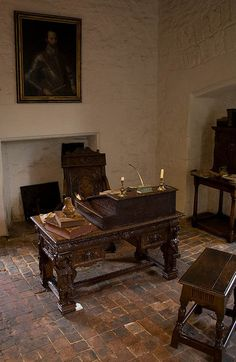 Sir Walter Raleigh's cell in the Tower of London by Fred Dawson, via Flickr