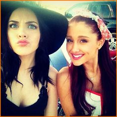 Ariana Grande And Liz Gillies Answer Questions In A New Video