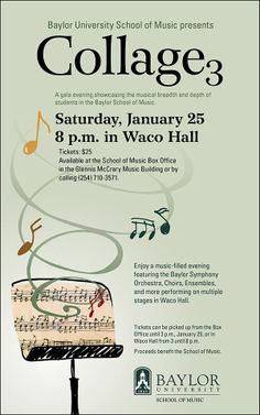 #Baylor University's School of Music presents a gala evening showcasing the musical breadth and depth of BU students.