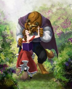 Belle and the beast reading walt disney, disney pics, fera disney, disney c Walt Disney, Fera Disney, Disney Couples, Disney Love, Disney Magic, Princesse Disney Swag, Beauty And The Beast Art, Beauty Beast, Culture Art