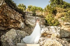 Despina is stunning wearing Sophia Tolli Maeve - Style Y11652 - a lace sheath wedding dress with detachable tulle skirt