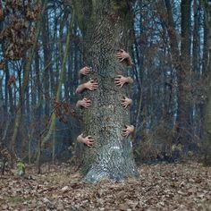 Czlowiek Kamera's Surreal Photography Manipulations