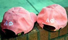 Alpha Phi hats