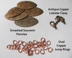 bracelets for pressed pennies
