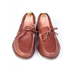 Russell Camp Moccasin Brown $165