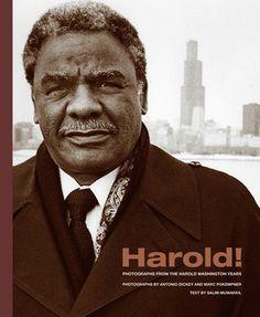 Mayor Harold Washington, first African American Major of Chicago.