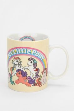 My Little Pony Mug #urbanoutfitters ... No kidding I just FREAKED out. I am gonna have to buy this!