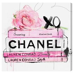 Rue La La — Oliver Gal Dripping Roses and Chanel Canvas Art Oliver Gal, Canvas Wall Art, Wall Art Prints, Canvas Prints, Quote Canvas, Chanel Canvas, Arte Fashion, Fashion Wall Art, Chanel Fashion