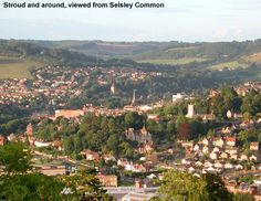 Stroud Town From Selsley