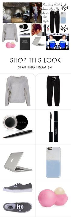 """""""Recording Songs W/ Louis Tomlinson"""" by redheadmahomiemidnightredaustin ❤ liked on Polyvore featuring FWSS, A Fine Line, Mary Kay, Speck, Casetify, Vans, Eos and Topshop"""