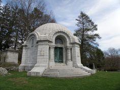 Archbald Mausoleum Sleepy Hollow Cemetery- Sleepy Hollow, New York