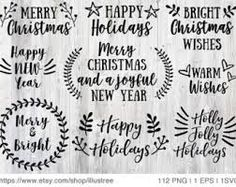 Image result for christmas hand lettering png