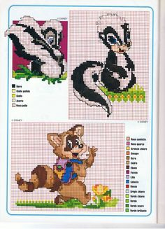 Disney - free cross stitch patterns crochet knitting amigurumi