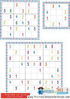 Sudoku pour enfant à imprimer