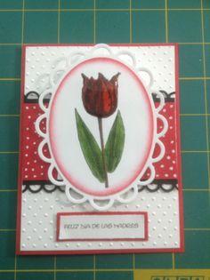 Mothers day. Card ( tarjeta del dia de las madres).