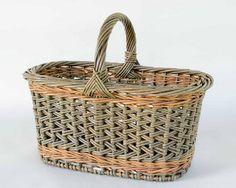 zig zag weave willow shopper | Katherine Lewis