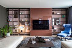 Яркая и стильная современная квартира в Киеве   Пуфик - блог о дизайне интерьера