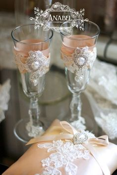 Бокалы wedding glasses