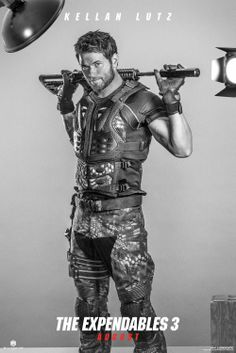 Kellan Lutz & Jason Statham Are Back in Action in 'Expendables Character Posters: Photo Kellan Lutz and Jason Statham look ready for some action in their military-esque garb in these brand new character posters for The Expendables Also featured… Kellan Lutz, Sylvester Stallone, New Movie Posters, New Poster, Cinema Posters, Mel Gibson, Jason Statham, 3 Movie, Love Movie