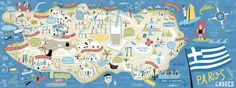 Paros, Greece by Nate Padavick - They Draw & Travel