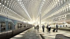 Flinders Street Station Design Competition - People's Choice Award - HASSELL + Herzog & de Meuron