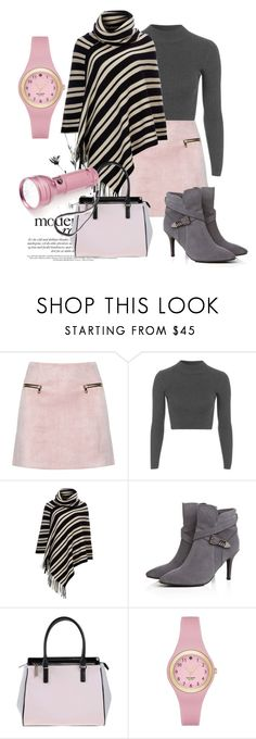 """Untitled #151"" by ghadamfh ❤ liked on Polyvore featuring Topshop, Wallis, Versace, Kate Spade and Totes"