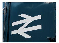 The British Rail logo.