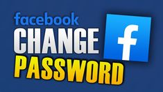HOW TO CHANGE FACEBOOK PASSWORD Channel, Android, Hacks, Technology, Education, Facebook, Logos, Videos, Tips