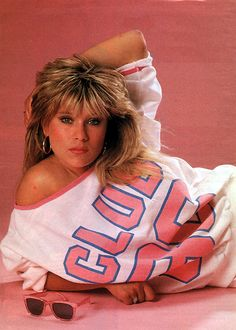 """Samantha Fox (born 15 April is an English dance-pop singer, songwriter, actress, and former glamour model. In at age she began appearing as a topless model In she launched her pop-music career with her debut single """"Touch Me (I Want Your Body)"""", Laura Lee, Samantha Fox 80s, Debbie Gibson, 80s Music, Celebs, Celebrities, 80s Fashion, Hottest Photos, Girl Pictures"""