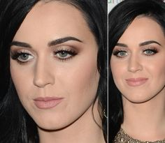 As maquiagens chiques de Katy Perry