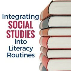 Ideas for integrating social studies instruction into your reading block and everyday classroom routines.
