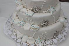 White Wedding mit Meerjungfrauen-Touch - Mermaid style