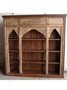 Jodhpurtrends.com Antique Reproduction Indian Historic Bookcase.  Reproduction FurnitureJodhpurHand ...