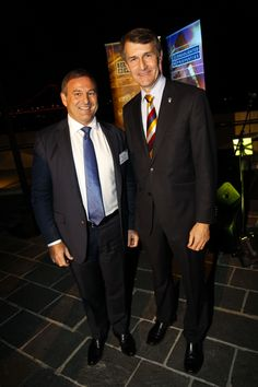 Don O'Rorke & Lord Mayor Graham Quirk