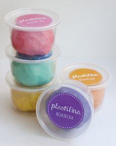 Receta para hacer Plastilina o Masa Moldeable tipo Playdough #DIY