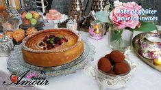 idée goûter tarte au fromage blanc, truffes au chocolat, biscuit sec et ... Tarte Fine, Ramadan Recipes, Empanadas, Coco, Tiramisu, Biscuits, Pancakes, Cheesecake, Chocolate