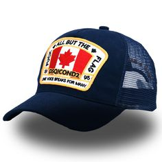 4e95537e781e4 DSQICOND2 Letter Cotton Trucker Mesh Baseball Caps Hip Hop Snapback Hats  For Men Women Gorras Bone