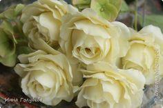 Садовые розы из хф. Мастер- класс.