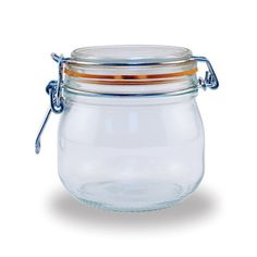 Le Parfait French 1/2-liter Glass Canning Jars (Pack of 6) | Overstock.com Shopping - Great Deals on Le Parfait France Storage Jars