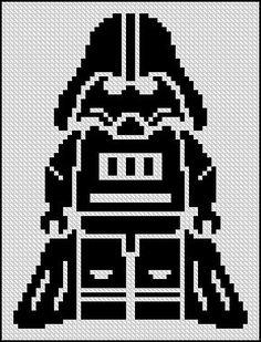 Crochet blanket diy 38 Ideas Crochet Blanket Diy Star Wars For 2019 Cross Stitching, Cross Stitch Embroidery, Embroidery Patterns, Cross Stitch Patterns, Sewing Patterns, Star Wars Crochet, Crochet Stars, Diy Star, Star Wars Quilt