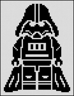 BOGO FREE! Darth Vader, Star Wars Cross Stitch Pattern StarWars Cross Stitch Needlecraft Embroidery Needlework PDF Instant Download #002-4
