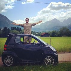 Want to feel like you're on top of the world?! Here's how you do it. - Instagram picture by @lenardot lenardot #smartcar #europe #smallcarbigdreams #swissalps #resnickautogroup