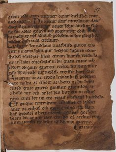 """The earliest documentary reference to Arthur by name occurs in the Welsh poem Y Gododdin, a poem which commemorates British warriors who died in a battle at Catraeth, probably Catterick in Yorkshire. The period to which the poem refers is the 5th to 6th centuries, when the native Britons fought against Germanic Saxon invaders. Arthur appears simply as a positive comparison to one of the dead warriors being eulogized. """" He fed black ravens on the wall Of the fortress, although he was no…"""