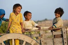 Pakistani Kids with their cute innocent smiles