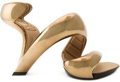 OMG I WANT!! Julian Hakes 'Mojito' sandals #heels #shoes