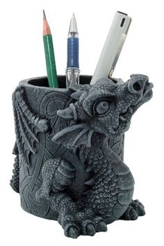Dragon Utility Holder - $19.99 - Let this adorable little dragon keep things organized for you!