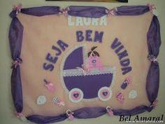 Painel decoração Chá de Bebê para Menina