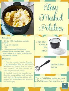 Pampered Chef Rice Cooker, Pampered Chef Party, Pampered Chef Recipes, Baby Food Recipes, Baking Recipes, Great Recipes, Favorite Recipes, Soup Recipes, Steamer Recipes